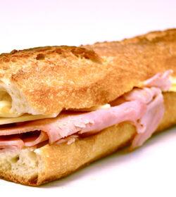 Cheese & Ham Sandwich
