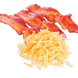 Bacon & Cheese Breakfast Bun