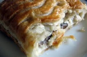 Chicken and Mushroom Pasty