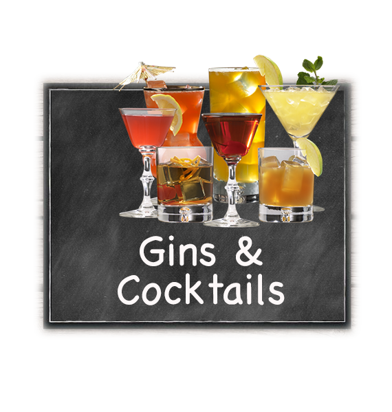 Gins & Cocktails