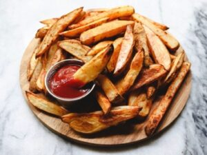 Hand-cut chips