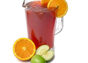 Orange and Apple Iced Tea