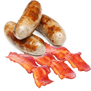 Sausage & Bacon Breakfast Bun