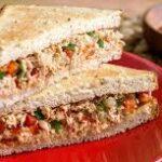 Tuna Red Pepper Sandwich