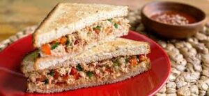 Tuna Red Pepper Sandwich