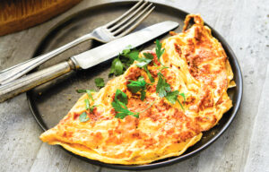 All Day Breakfast Omelette